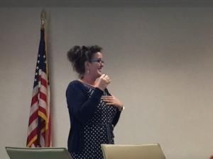 Susan Miller addresses GISCC